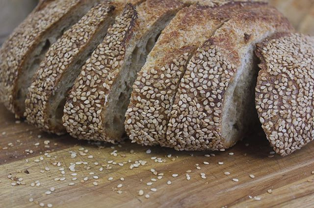 Our sesame whole wheat is my personal fa