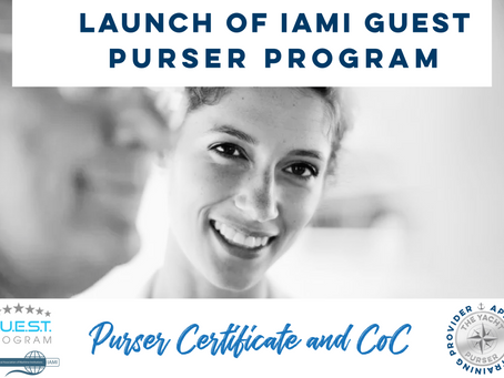 Launch of highly anticipated IAMI GUEST Purser Program