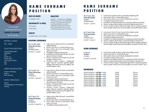 2nd Additional CV