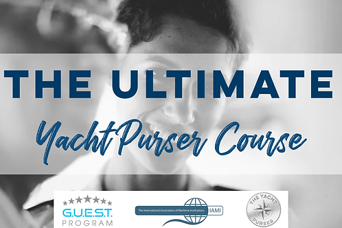 The Ultimate Yacht Purser Course