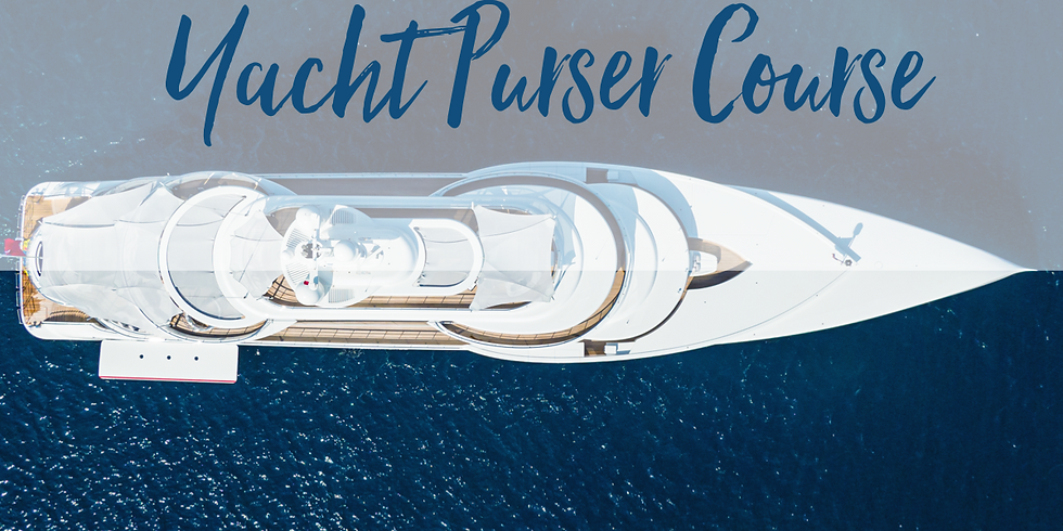 1 April 2020: The Ultimate Yacht Purser Course
