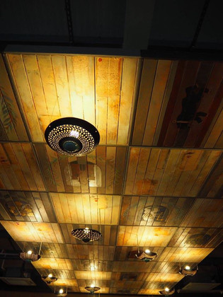 Ceiling in Chocolate Cafe