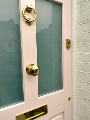 Wooden Front Door in Eltham_