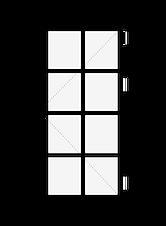 Casement wooden window London