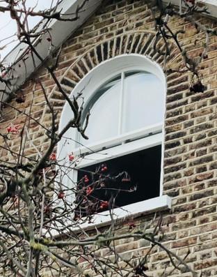 Wooden Sash Window. London. Lee. Conserv