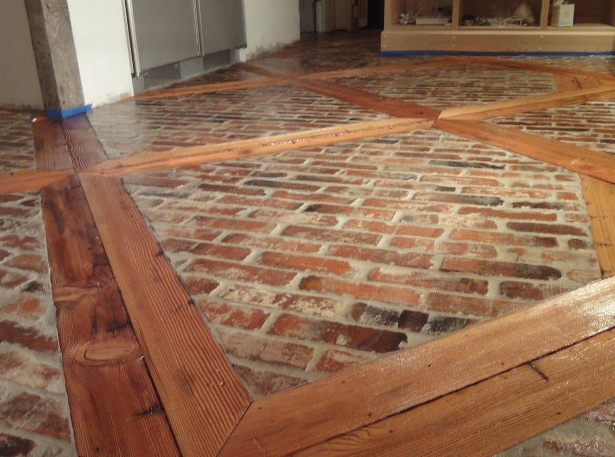 Wood and Tiles Floor