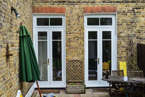 Wooden Patio Doors