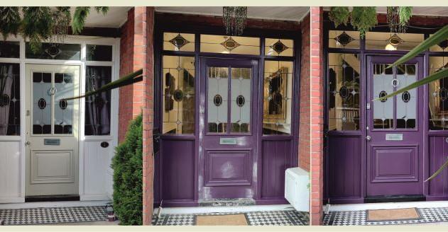 Door restoration, repainting