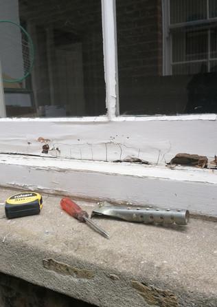 Restoration wooden window