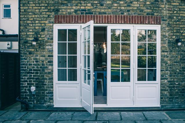 House in Sidcup. Wooden Patio Door