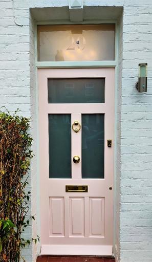 Wooden Front door in Eltham