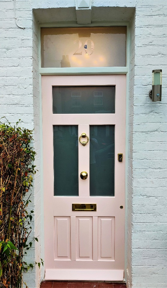 Wooden Front door in Eltham