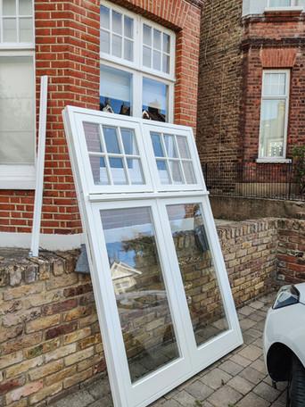 House in Eltham. Wooden Casement Windows