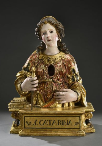 Buste_reliquaire_Sainte_Catherine_Italie