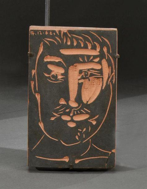 Pablo Picasso, Tête d'homme - Adjugé 1 1