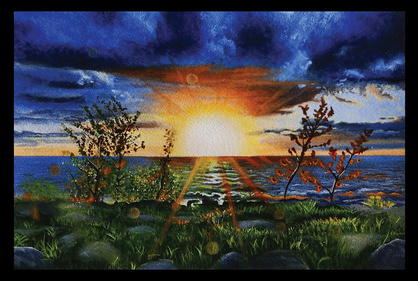 PURCHASE A PRINT: 'Ipperwash Sunset'