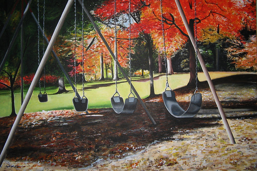 PURCHASE A PRINT: 'Waiting Swings'