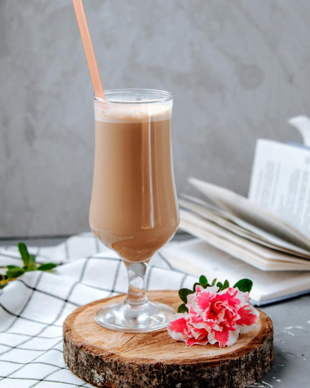 Cacao Smoothie With Sea Moss Powder
