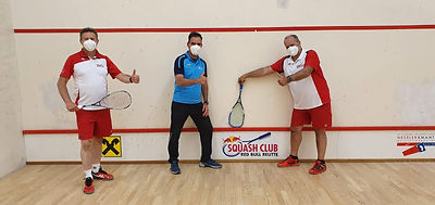 Postcorona Squash 2021 mit Markus Rudi u