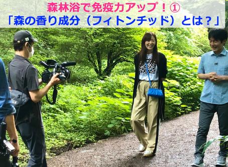 森林浴で免疫力アップ!①「森の香り成分(フィトンチッド)とは?」@TV東京ハーフタイムツアーズ