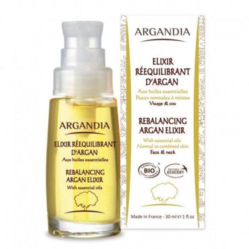 Elixir rééquilibrant visage Argandia
