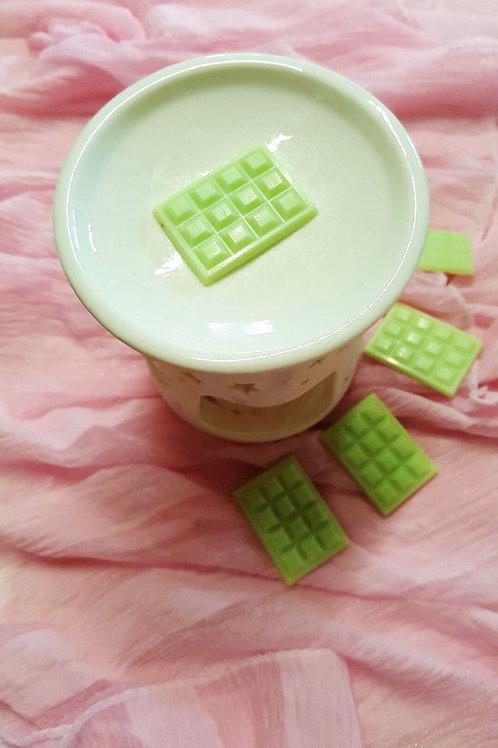Mini tablette fondants parfumés caramel
