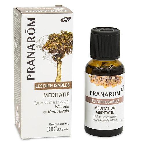 Méditation et Saintes odeurs mélange pour diffuseur huiles