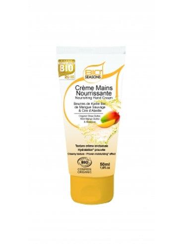 Crème mains nourissante bio Seasons