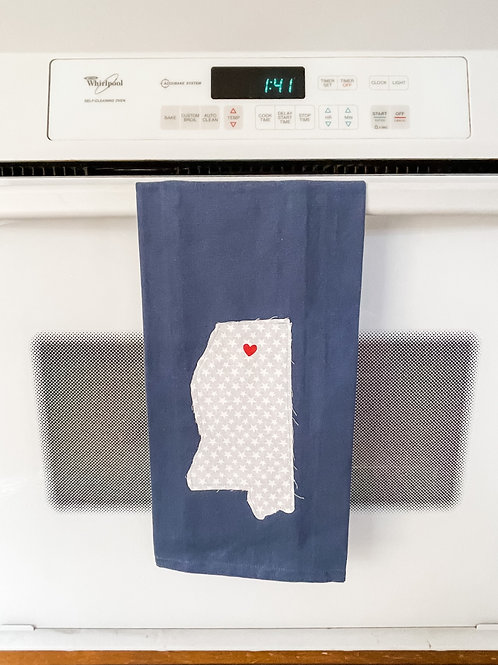 I Love Oxford Towel