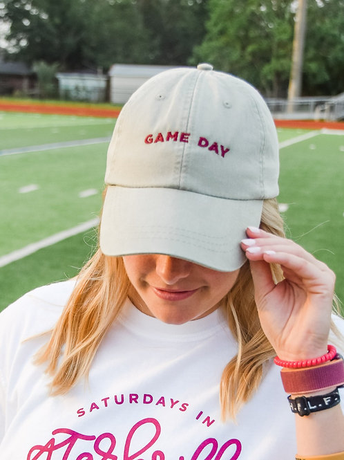 Game Day Hat | Grey