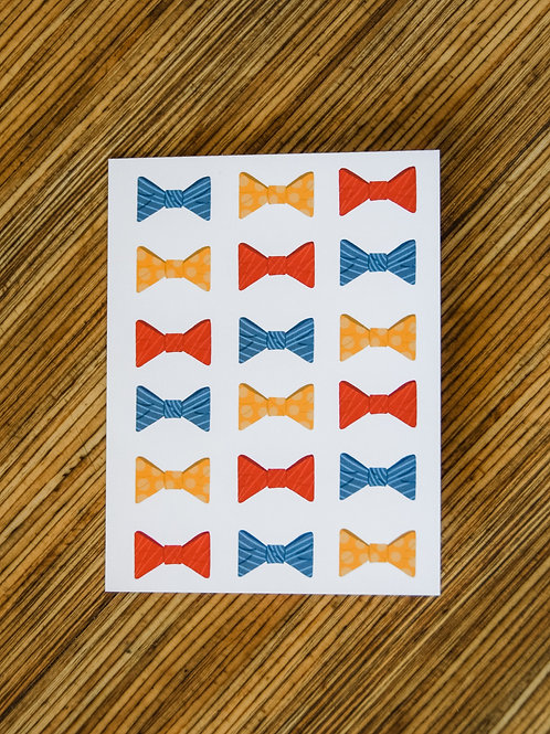 To The Dad Who Looks Fly In A Bowtie Card