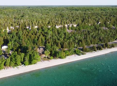 Dyer's Bay Ontario: Began as a Lumbering Settlement