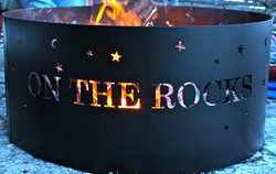 On The Rocks fire pit...come relax!