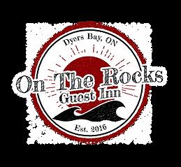 On The Rocks Guest Inn Logo