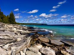 Shoreline of Dyers Bay