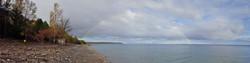 Rainbow over Dyers Bay