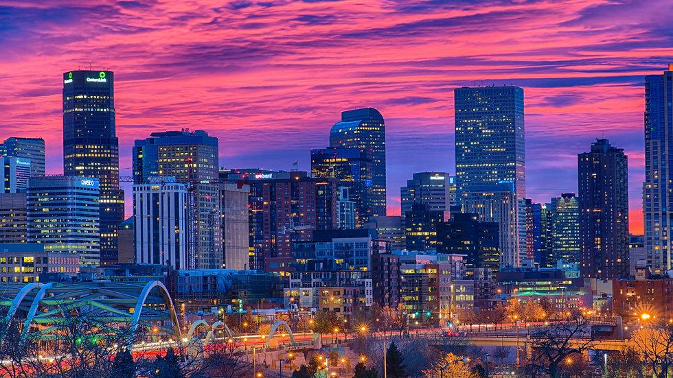 Denver Downtown Sunset Pink.jpg