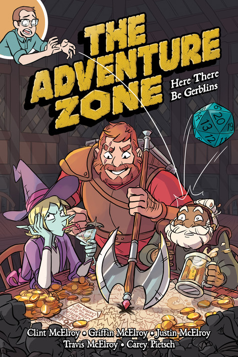 Here There Be Gerblins, Bluejeans, and Spiders: A The Adventure Zone Review