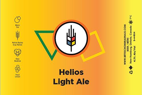 Case of Helios Light Ale