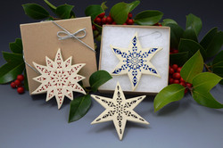 Holiday Star Ornaments  $35