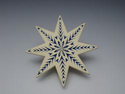 """Star Ornament, 3.75 """"  $35.00"""