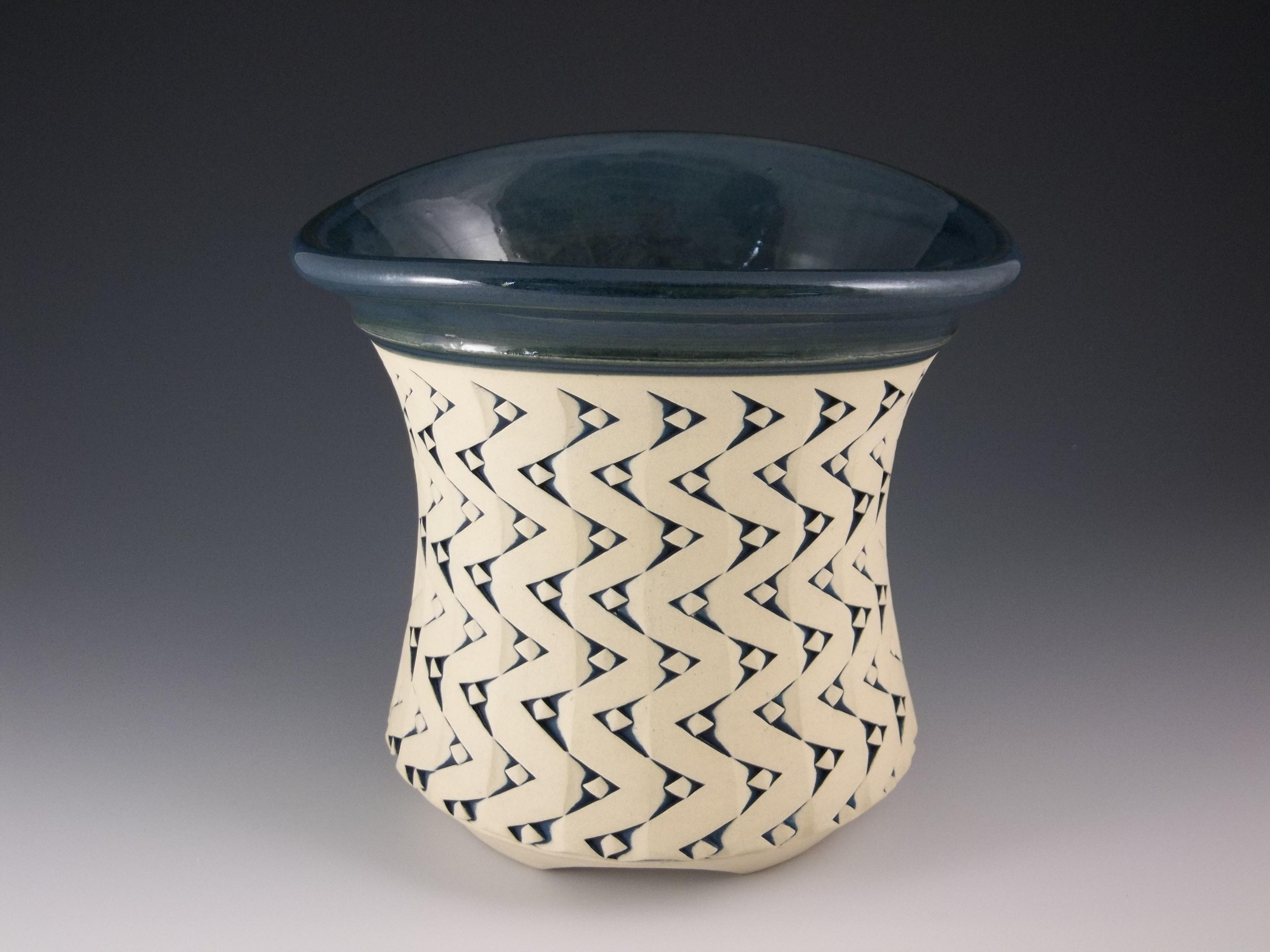 """Floral Vase,8""""x8"""", $300.00"""