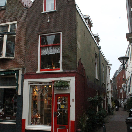 A dark but lovely day in Haarlem, Holland