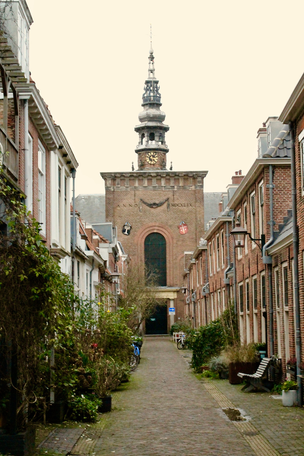 Old Church Haarlem Netherlands