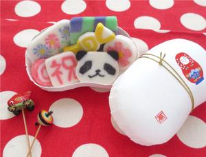 decorative mochi - how to make mochi
