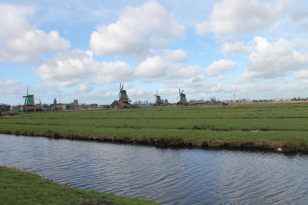 Zaanse Schans Netherlands Windmills Travel