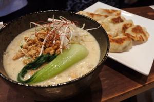 Japanese food - how to make vegan ramen