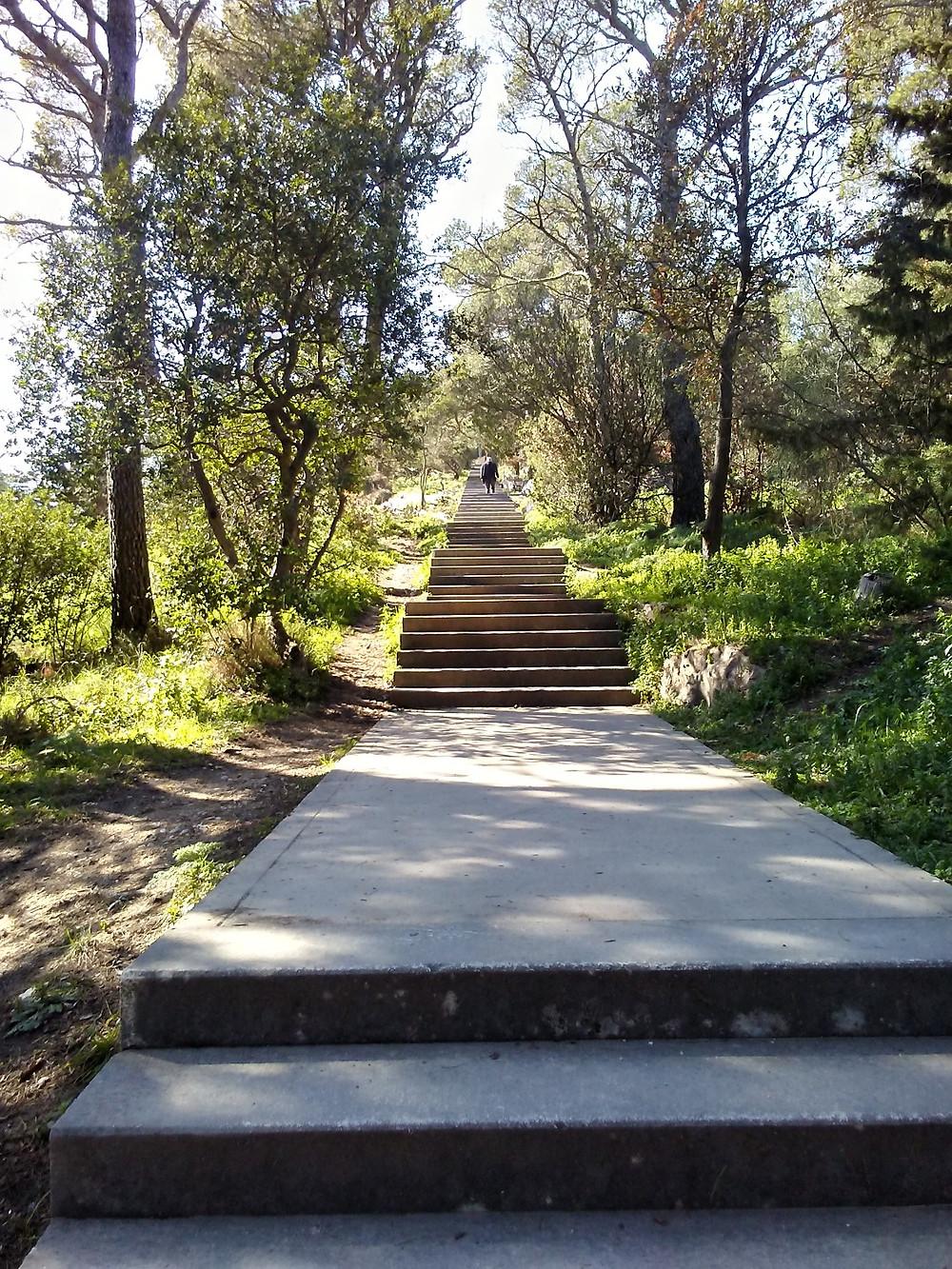 Stairs - Marjan - Split - Croatia