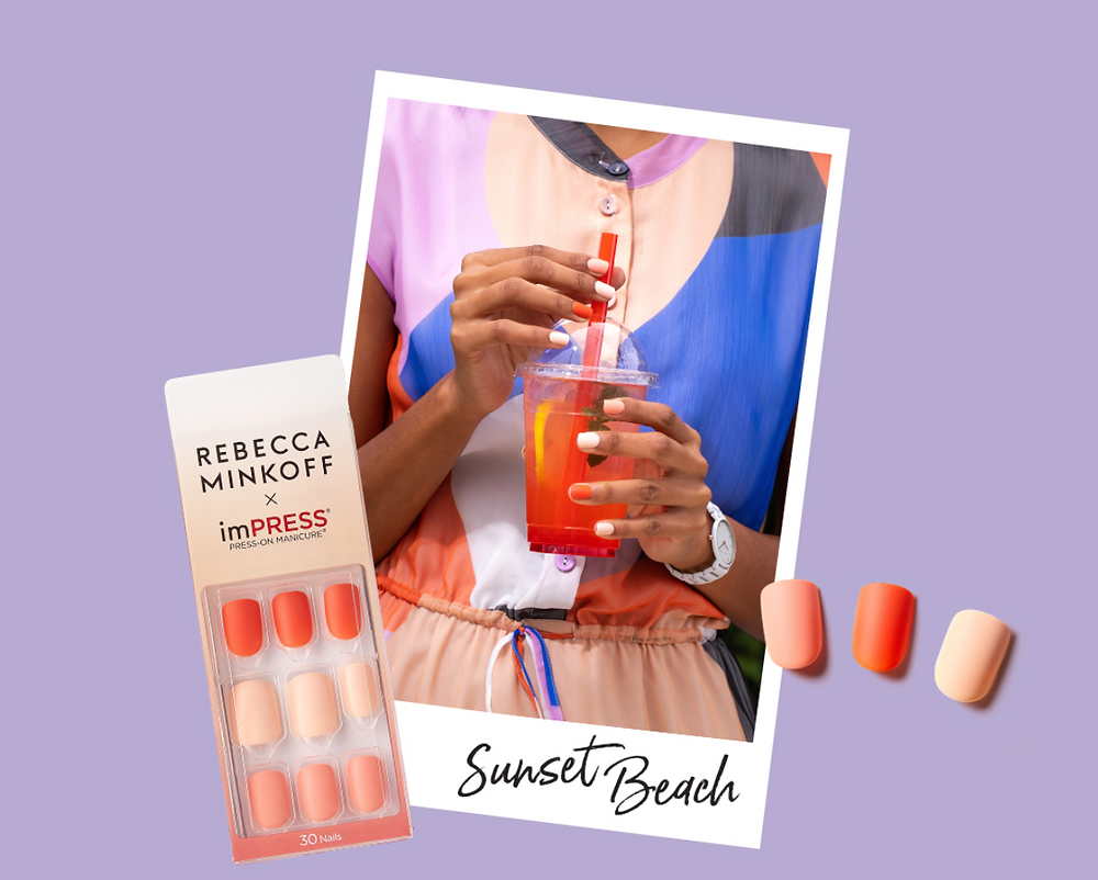 imPress Manicure Kit - Rebecca Minkoff - Sunset Beach