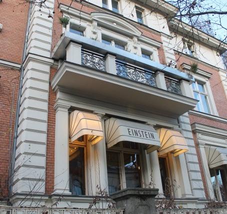 Berlin: The Einstein Cafe